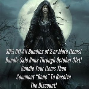 30% OFF ALL BUNDLES OF 2 OR MORE ITEMS!